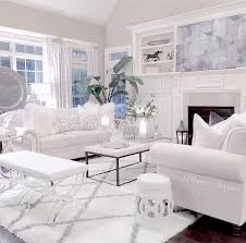 White Living Room Furniture All White Living Room Furniture Gen4congress Throughout