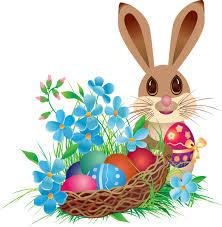 rabbit easter basket easter png easter bunny with basket png easter 20bunny 20with