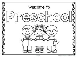 preschool coloring pages school back to school coloring pages for preschool acpra
