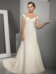 budget wedding dress get the trend at any budget the shoulder wedding gowns