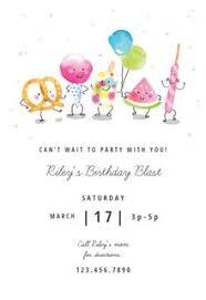 birthday invite template free birthday invitation templates for kids greetings island