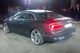 New Audi A5 Release Date New Audi A5 And S5 Coupe 2016 Unveilied Pictures Audi S5