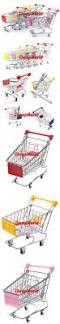 Mini Shopping Cart Desk Organizer کوتاه سبد خرید میز سازمان سوپرمارکت تلفن قلم اسباب بازی سبد خرید