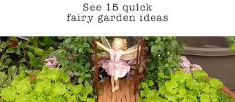 M And M Landscaping by Shop Fairy Garden Fairy Figurines Miniature Garden Supplies