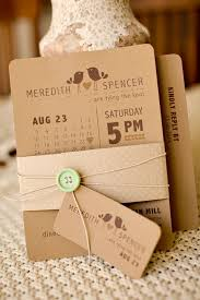 kraft paper wedding invitations best 25 kraft paper wedding ideas on rustic wedding