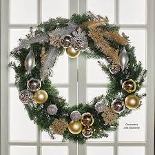 36 pre lit forever fragrant scented wreath