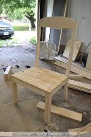 Outdoor Wingback Chair Diy Wingback Dining Chair U2013 How To Build The Chair Frame