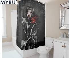 Black Bathroom Curtains Black Shower Curtain Target In Calm Rms Smwagne Black Bathroom