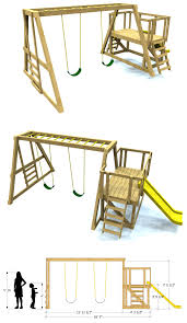 build your own swing set with paul u0027s swing set plan free download