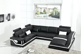 canap forme u canape noir moderne canapacs pour salon moderne canapac ensemble