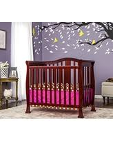 amazing deal dream on me addison 4 in 1 convertible mini crib black