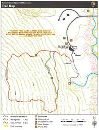 Indian Cave State Park Map by Russell Cave National Monument Hiking Trails