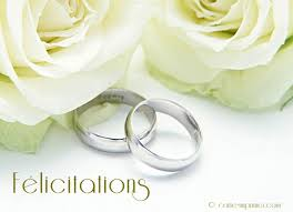 carte mariage carte imprimer félicitations mariage