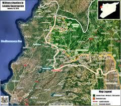 Azaz Syria Via Google Maps by Maps Northern Lattakia As Of January 16th The Real Syrian