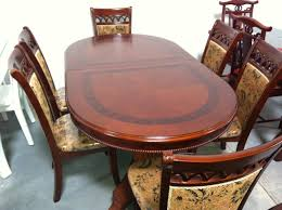 Extendable Oval Dining Table Extendable Oval Dining Table E229 Direct Warehouse Sale