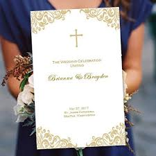 wedding program cover maura co wedding ceremony wedding ceremony programs
