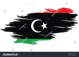Flag Of Libya Flag Brush Flag Libya Stock Vektorgrafik 467266463 Shutterstock