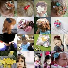 how to make baby hair make for baby 25 free easy baby hair clip tutorials