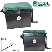 siege de caisse caisse boite à pêche rangement panier siège concept pro prix