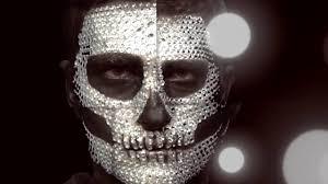 halloween makeup tutorial skeleton diamond skull halloween makeup tutorial youtube