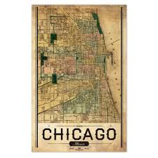 Chicago Il Map by Posters And Wall Art U2013 Chicago Architecture Foundation Shop