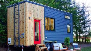 cozy modern tiny home and garden from tiny heirloom tiny house