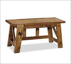 Office Desk Small Bench Style Office Desks From Pottery Barn Small And Large