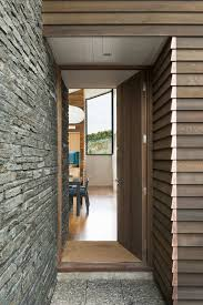 home entrance ideas adorable modern home entry design with jagged natural stone wall