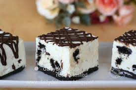 dailydelicious cookies and cream slices my craziness for the