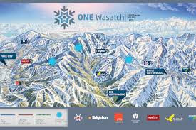 Map Of Colorado Ski Areas by Connecting 7 Wasatch Ski Areas In Utah Could It Really Work