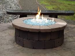 Firepit Rocks Chic Design Glass Pits Propane Inspirational With Rocks For