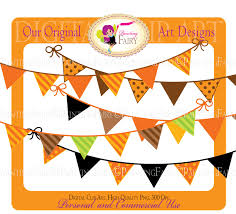 buy 2 get 1 free bunting clipart thanksgiving autumn