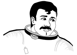 astronaut coloring page brave astronaut coloring page free printable coloring pages