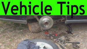 vehicle tips how to disconnect the parking brake cable on a chevy