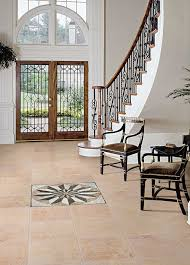 entryway flooring 24x24 medallion marble medallion style