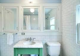 recessed bathroom cabinets detailed view recessed bathroom mirror