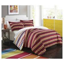 indiana southwestern style reversible printed duvet cover set