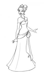 Free Printable Princess Tiana Coloring Pages For Kids Princess And The Frog Colouring Pages
