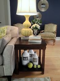 Living Room End Tables With Storage Best 10 Decorating End Tables Ideas On Pinterest Foyer Table