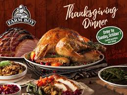 farm boy our thanksgiving dinners are back let us do