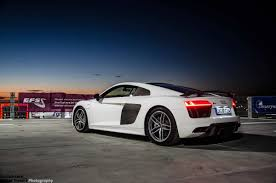 audi a8 v10 plus 2015 audi r8 v10 plus in photo session on top of a building