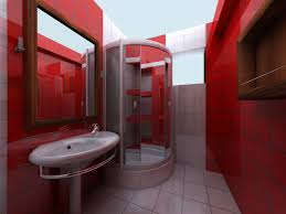 red bathroom ideas tjihome