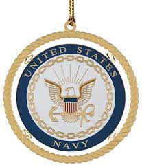 navy ornament traditional ornaments by chemart
