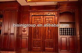 Wooden Main Door Bisini Solid Wooden Main Door Design Doors Interior Luxury