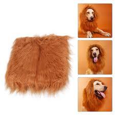 lion halloween costume givamie lion mane for dog u2013 giv amie