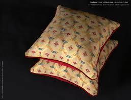 Brocade Home Decor Jofa Zanzibar Lass Fabric Decorative Throw Pillows