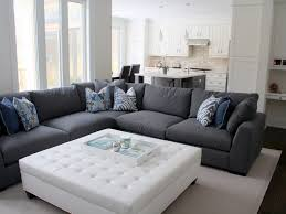 Grey Sectional Sofa Simple Grey Sectional Couches Sofa Sofas Cocktail Ottoman For With