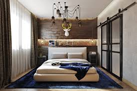 bold industrial meets rustic bedroom decor digsdigs