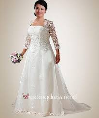 wedding dress jacket beautiful beading embroidery plus size wedding dress with jacket