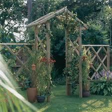 Trellis Arches Garden Brilliant Garden Archway Of Old Stone 4 Inside Ideas